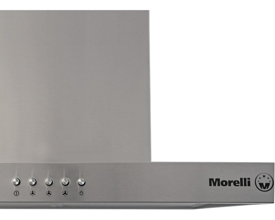 Campana Extractor Morelli Ferro 600 Con Botonera