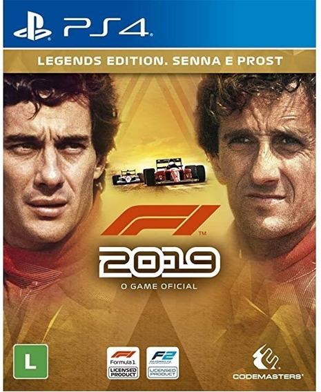 F1 2019 Legends Edition Senna E Prost - Ps4 - Midia Fisica!