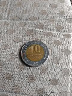 Moeda Uruguayos,comemorativa Ao O Ano 2000
