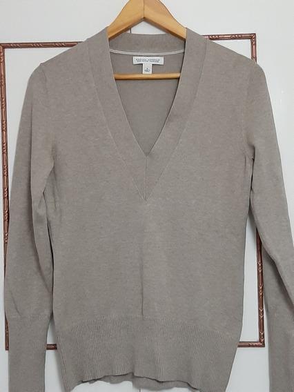 Sweater Escote V Color Beige Banana Republic