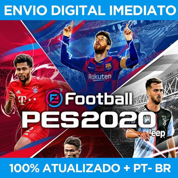 Pes 2020 Pc - Completo 100% Pt-br - Digital Pc