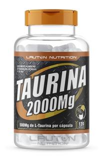 Taurina 2000mg Com 120 Cápsulas Promoção + Brinde