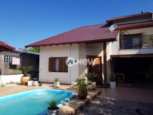 Imagem 1 de 16 de Casa Com 3 Dormitórios À Venda, 217 M² Por R$ 699.000 - Rondônia - Novo Hamburgo/rs - Ca2800