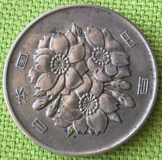 Japón : Moneda De 100 Yenes 1968 (43)
