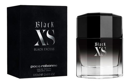 Perfume Importado Hombre Paco Rabanne Black Xs - 100ml