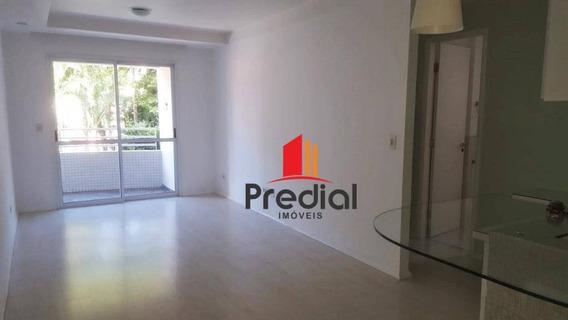 Apartamento 55 M² Com 1 Dormitório Para Alugar - Rua Das Goiabeiras, Jardim, Santo André/sp - Ap1561
