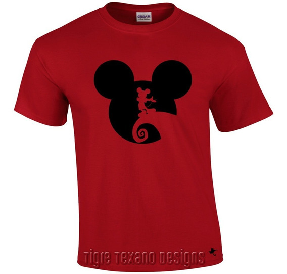 Playera Dibujo Animado Mickey Mouse M.1 Tigre Texano Designs