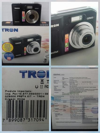 Camera Tron Digital Qz 900 Usada Ideal Para Colecionadores