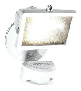Lampara De Seguridad Con Sensor De Movimiento Brinks Blanca