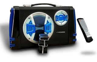 Parlante Portátil Bafle Activo Usb Bluetooth Radio Fm Karaok
