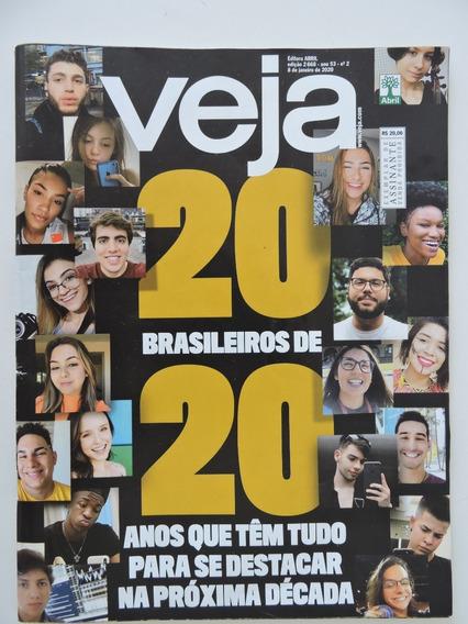 Revista Veja #2668 08-jan-2020 20 Brasileiros De 20 Anos
