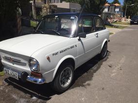 Fiat Abarth 850 (año 1969) Único En Su Estado