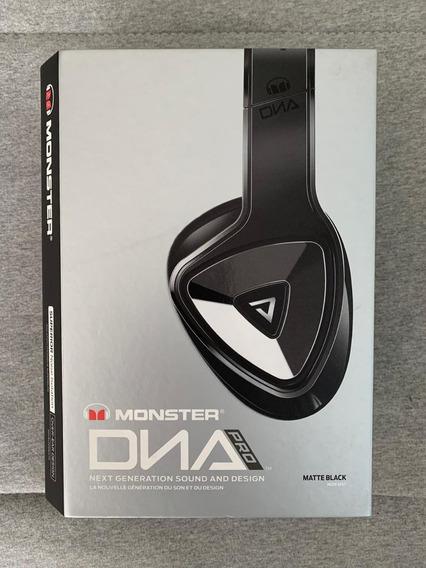 Fone De Ouvido Monster Dna Pro Headphone Over-ear Nunca Usad