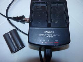 Carregador Original Canon Ca-ps400 Com Uma Bateria Brinde