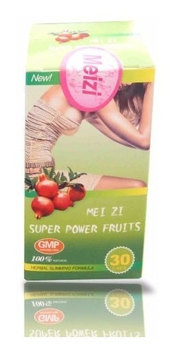 Mei Zi Super Power Fruits Cápsulas Para La Pérdida De Peso