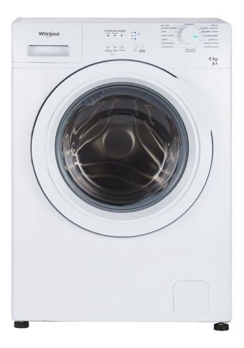 Lavarropas Whirlpool Carga Frontal 6kg Wnq06ab 800rpm Digiya