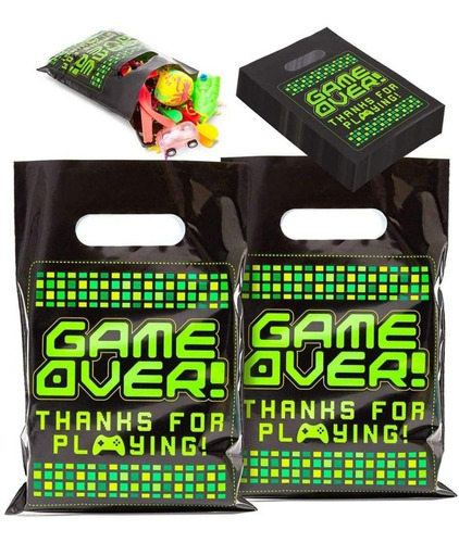 Imagen 1 de 4 de Pack De 10 Bolsas Para Sorpresitas , Video Juegos , Joystick