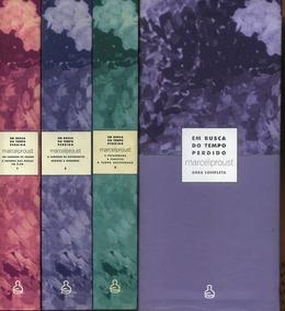 Em Busca Do Tempo Perdido - Marcel Proust Box 3 Livros Raro