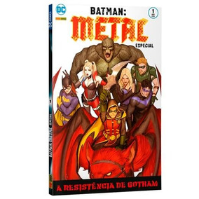 Revista Hq Gibi - Batmam Metal Vol.1 - Quadrinhos
