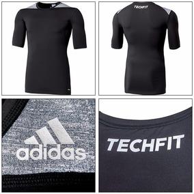 Camisa adidas Térmica Compressão Techfit Marceloshoes