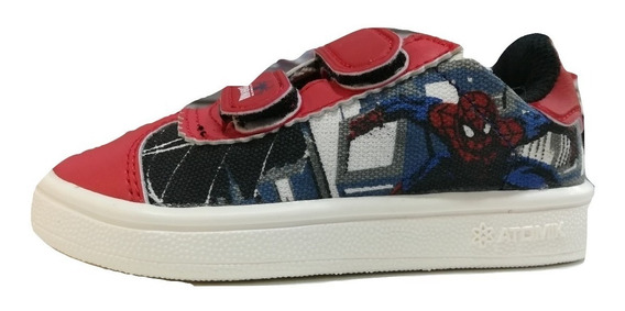 Zapatillas Spiderman Del 22 Al 27 Atomik !!