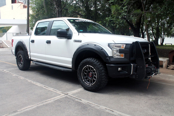 Ford F150 Xl 2015 Doble Cabina, Tela, Aire, Elec, 4x4