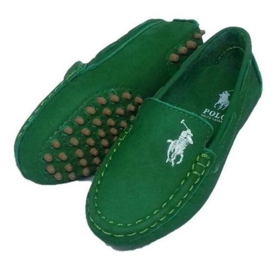 Sapato Mocassim Infantil Masculino Polo