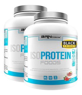 Kit 2x Iso Protein Foods 2kg - Brn Foods - Frete Grátis!