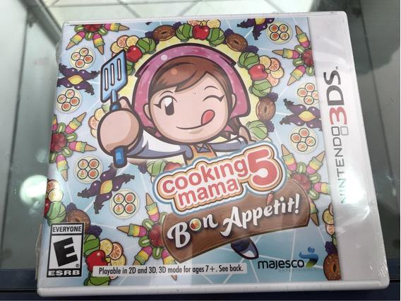Cooking Mama 5 Bon Appetitit Lacrado. Nintendo 3ds, 2ds