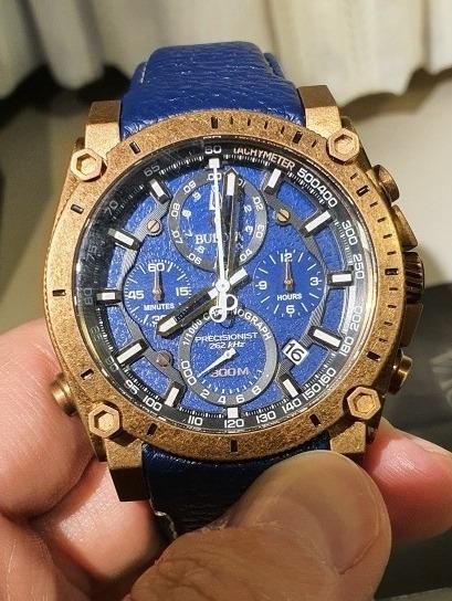 Relogio Bulova Precisionist Crono Azul