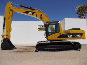 Excavadora Caterpillar 330cl Recien Importada (case Deere