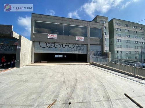 Prédio Para Alugar 2200 M² Por R$ 50.000/mês - Jardim Dom José - São Paulo/sp - Pr0002