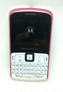 Celulra Motorola Ex 115 Funcionando Normal Usado 2 Chip