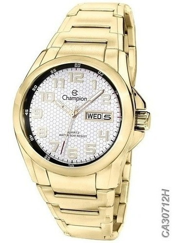 Relógio Champion Masculino Dourado Ca30712h