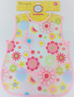 Babero Plastico Bebe Grande Espalda 15451 Colours Educando