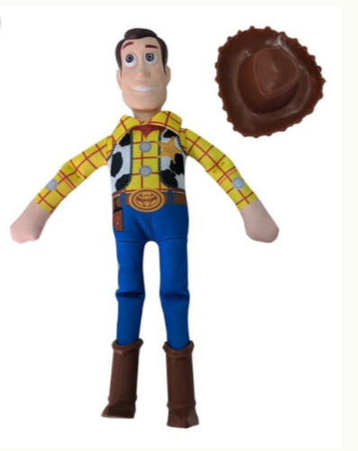 Muñeco Soft Woody Toy Story 4 New Toys Educando Full