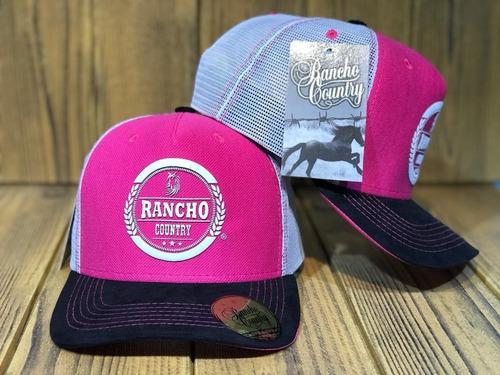 Imagem 1 de 1 de Bonés Rancho Pink