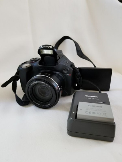 Canon Sx30is Semiprofissional Ultrassônica 14mp Semi-nova