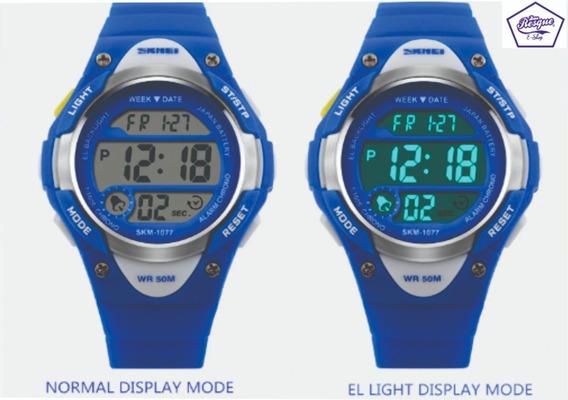 Relógio Skmei 1077 De Criança Digital Esportivo Infantil