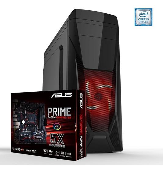 Computador Pc Gamer - I5-7400 3.50ghz, 8gb Ram, 1 Tb Hd