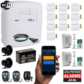 Alarme Residencial Wifi Internet App iPhone 12 Sensores