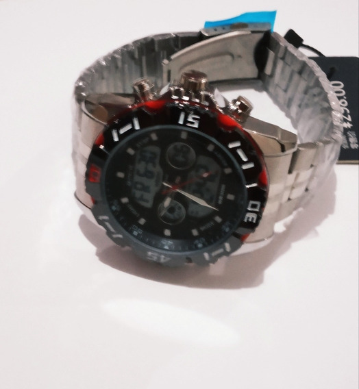 Relógio Stryve 8011 A Prova Dagua E Pulseira Aco Inoxidavel