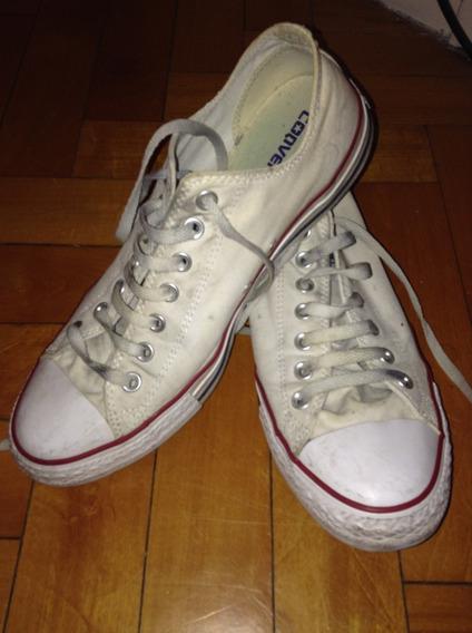 Zapatillas Converse Blancas Talle 42