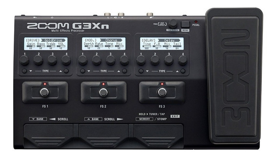 G3xn Pedaleira Zoom G3 G3x + Fonte Original Zoom G3xn Bivolt