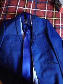 Terno Azul Eléctrico Talla 44