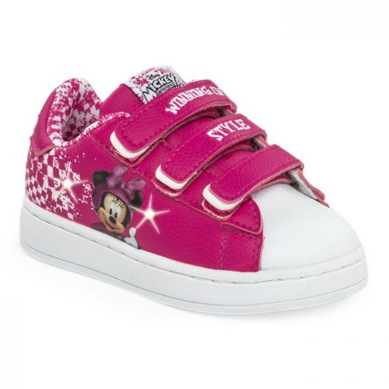 Zapatillas Disney Flow Minnie Race Addnice Luces Mundomanias