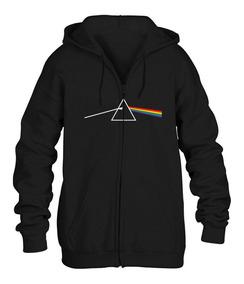 Sudadera Pink Floyd Dark Side Con Cierre Envío Gratuito