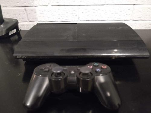 Playstation 3 Slim De 500 Giga/1 Joystick Original/11 Juegos