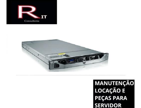 Servidor Dell Poweredge R410 32gb Ram 4 Hd De 600