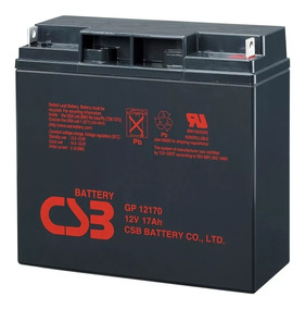 Bateria 12v 17ah Csb No Break Apc Sms Gp12170